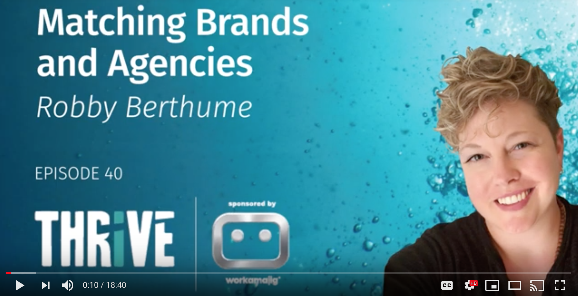 EP 40: Matching Brands and Agencies, with Robby Berthume